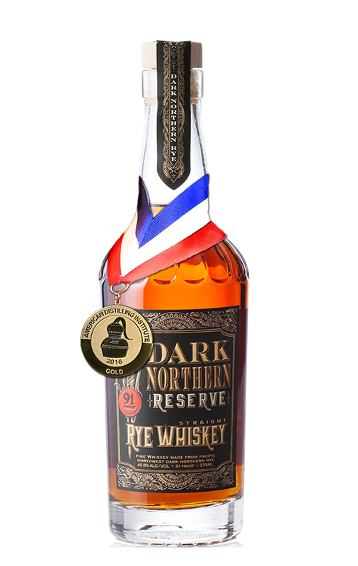 Dark Northern Reserve with gold medal