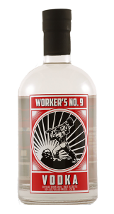 Worker's No. 9 Vodka PNG