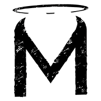 Mischief M Logo Textured