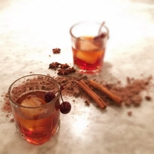 Chocolate Rye Cocktail