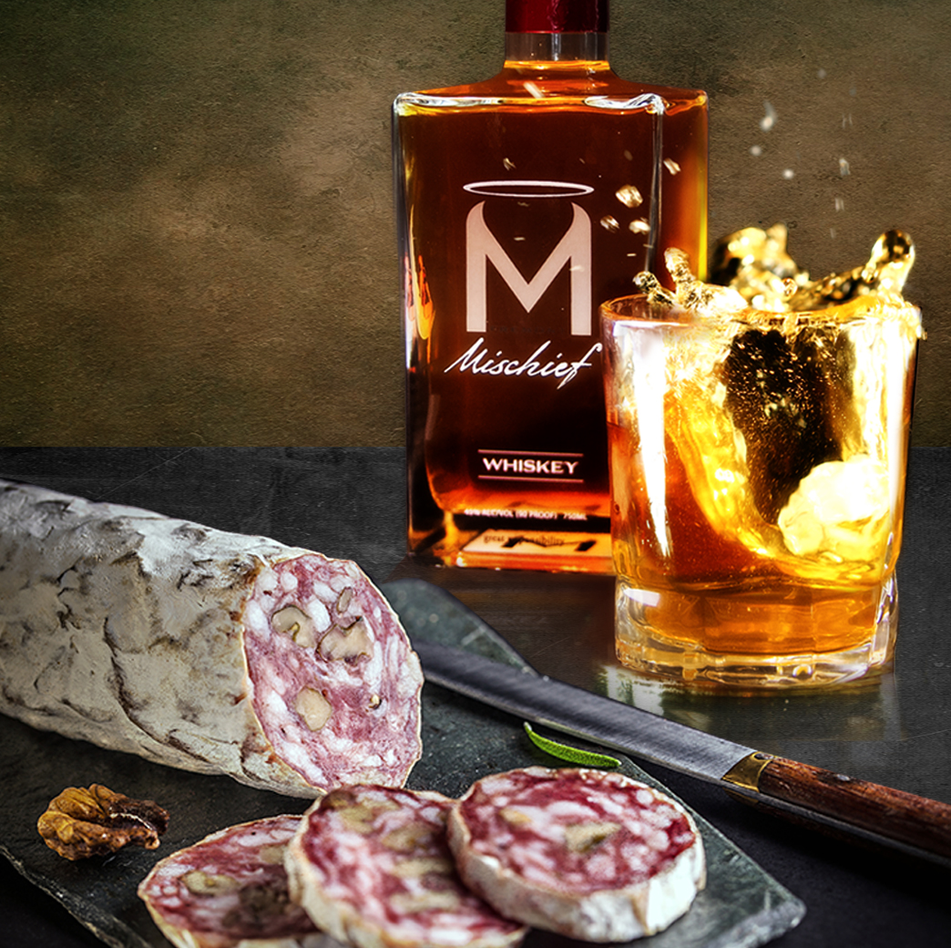 whiskey and meat pairing fremont mischief. Black Bedroom Furniture Sets. Home Design Ideas