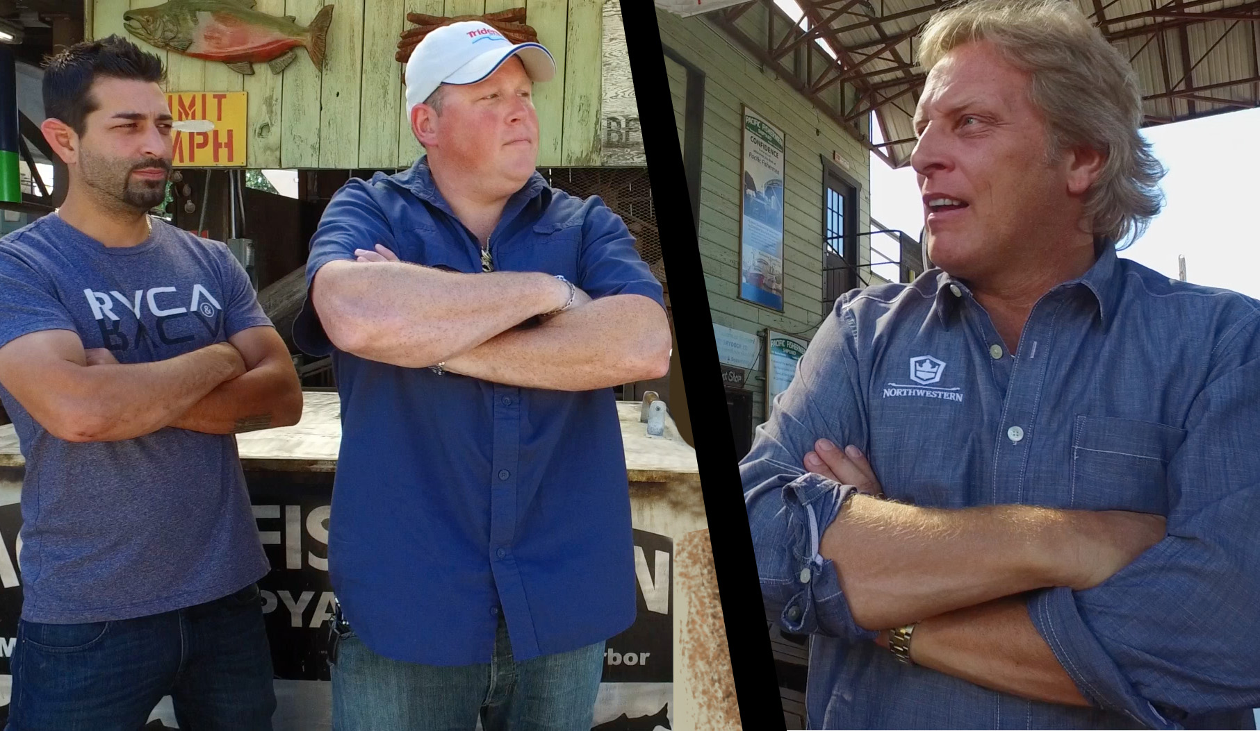 A Spirited Whiskey Challenge from the Captains of the Deadliest Catch