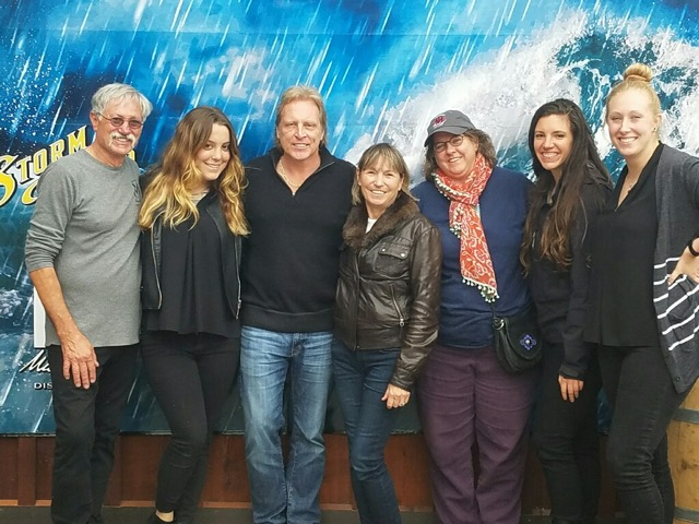 A collection of Mischief's: Captain Sig Hansen, Mike & Patti Sherlock with the Mischief crew