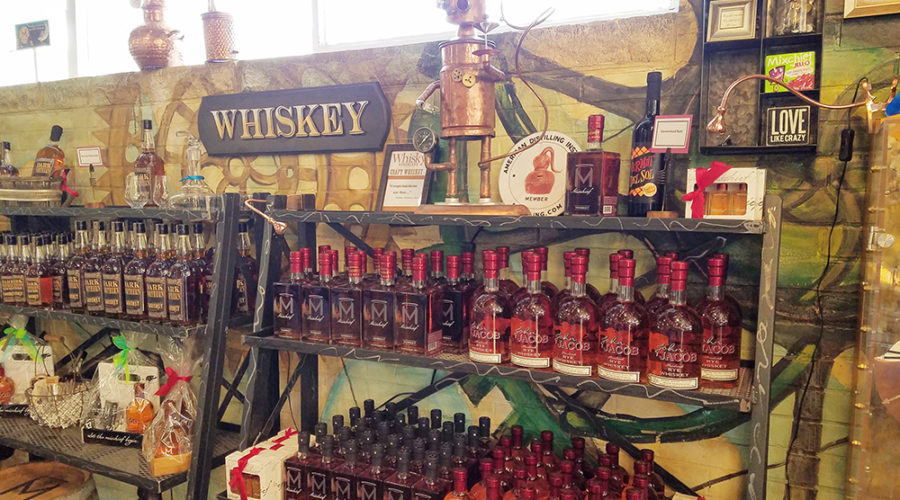 Our Curiosities & Spirits Tasting Room is HERE!