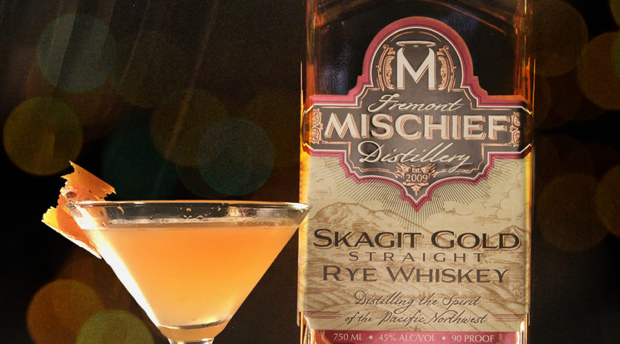 Introducing Skagit Gold Straight Rye Whiskey