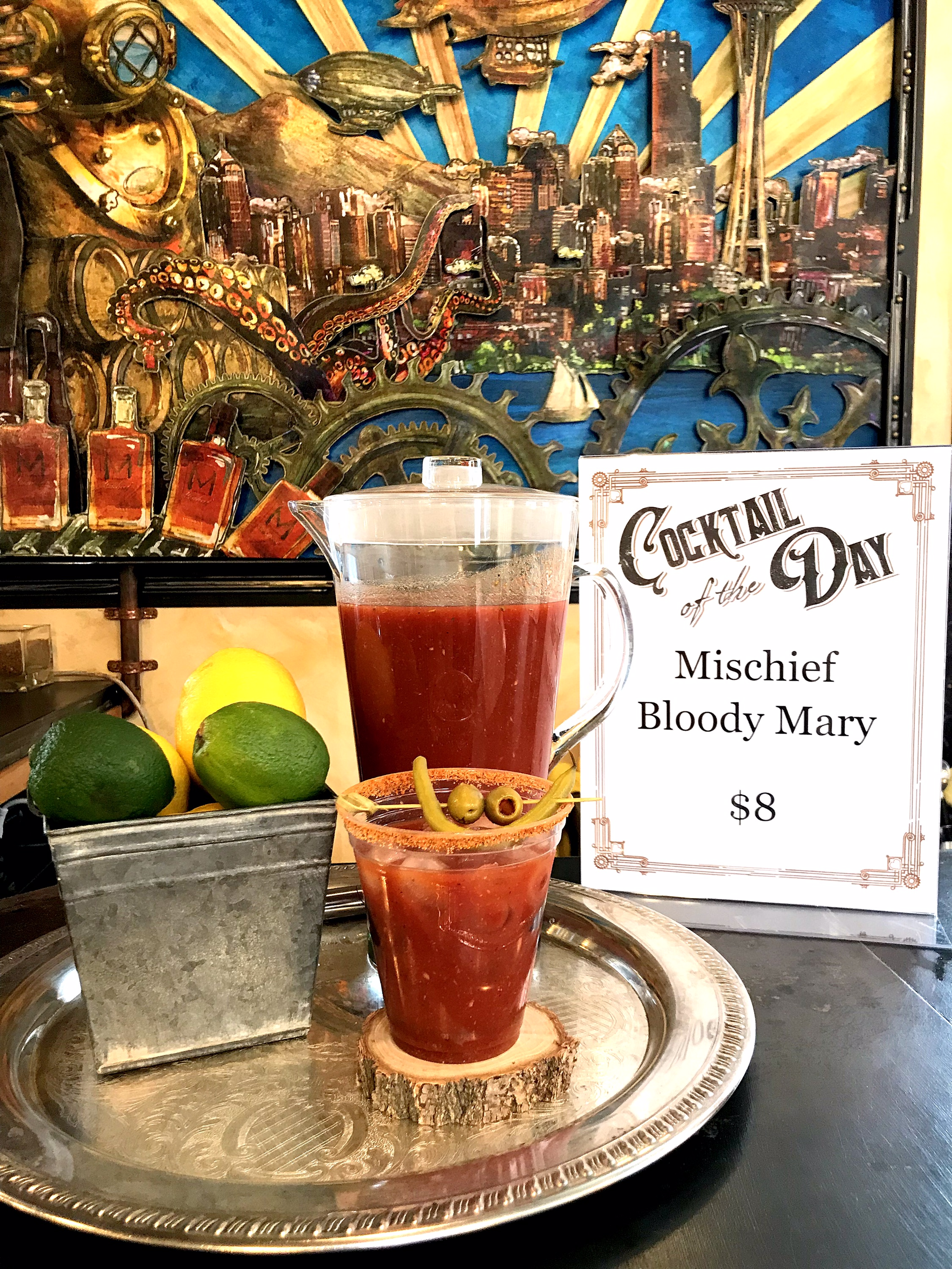 Let's make it a Bloody Mary Weekend!
