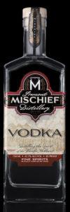 Mischief Vodka Black Background