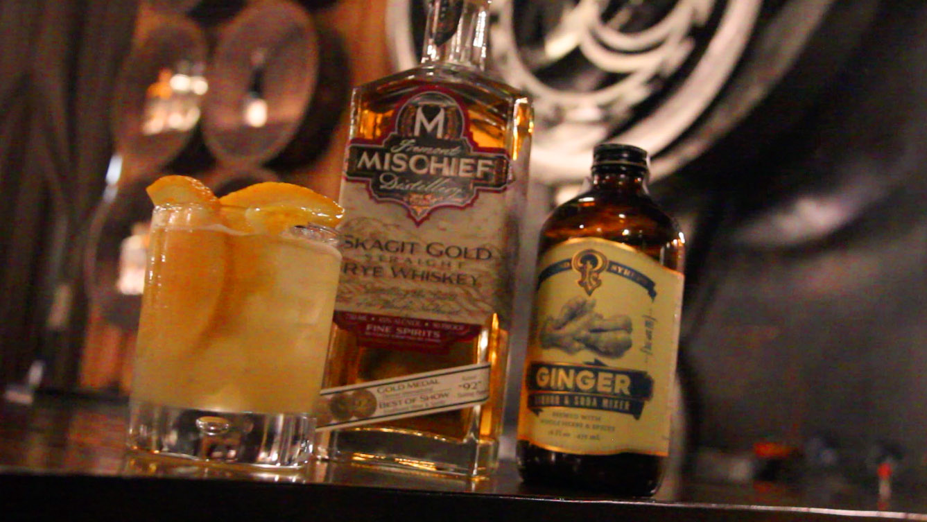 Spicy Whiskey GInger