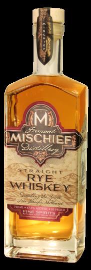 Fremont Mischief Straight Rye Whiskey