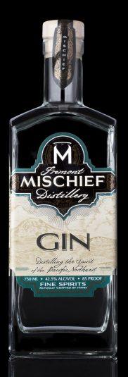 Mischief Gin Black Background