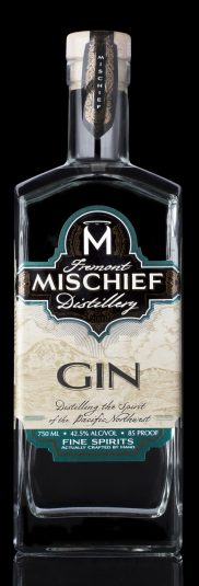 Mischief Gin Black Background
