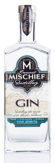 Mischief Gin White Background