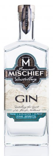 Mischief Gin White Background