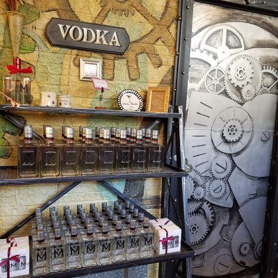 vodka tasting room